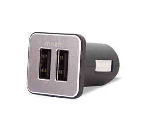 moshi Revolt Duo Car Charger with Lighting Cable‎